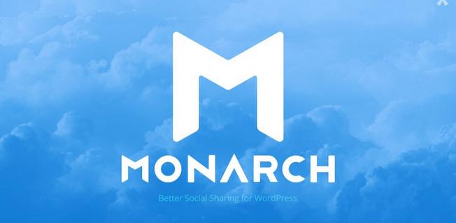 اشتراک گذاری مطالب سایت با Monarch 1.3.4 Social Sharing
