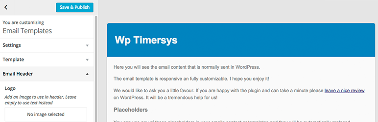 زیباسازی و تغییر قالب ایمیل پیش فرض وردپرس Email Templates